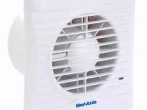 Vent Axia Silhouette 100T Single Speed 100mm Axial Timer Fan