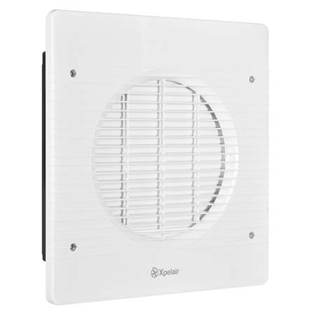 Xpelair WX9 Xpelair WX9 9″ Wall Fan With Wall Liner – 89996AW