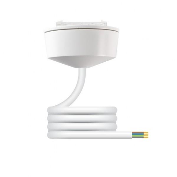Hager Klik CR64AX/2.0 Pre-wired Plug-in Ceiling Rose c/w 4 Core 0.75mm 2m PVC Lead