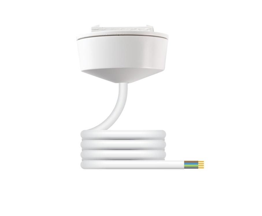 Hager Klik CR64AX/4.0 Pre-wired Plug-in Ceiling Rose  c/w 4 Core 0.75mm 4m PVC Lead