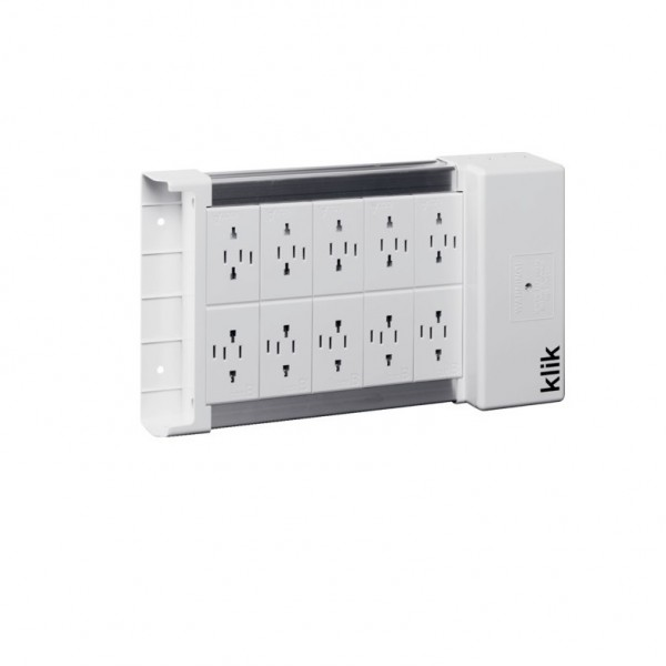 Hager Klik KLDS10 Marshalling Box - 10 Way Klik Lighting Distribution Unit