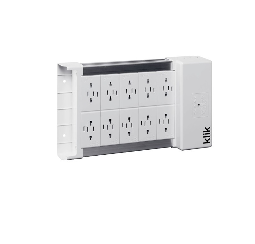 Hager Klik KLDS10 Marshalling Box – 10 Way Klik Lighting Distribution Unit