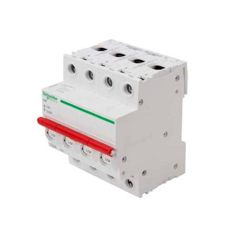 "Square D by Schneider Electric SE125SW4 LoadCentre KQ 125A Switch Disconnector Four Pole for ""B"" Type DBs"
