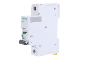 "Schneider Electric Acti9 A9F55101 1A Single Pole ""D"" Type iC60H MCB (C60HD101)"