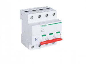 "Schneider Electric SEA91253N 125A Switch disconnector TP&N ""B"" Type Distribution Boards."