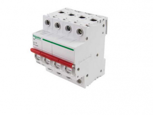 """Schneider Electric SEA91254 125A Switch disconnector 230/240V 4 Pole for """"B"""" Type Distribution Boards"""