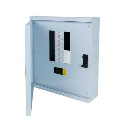 Square D by Schneider Electric SE24B250 LoadCentre KQ Three Phase 8 Way Type B Distribution Board