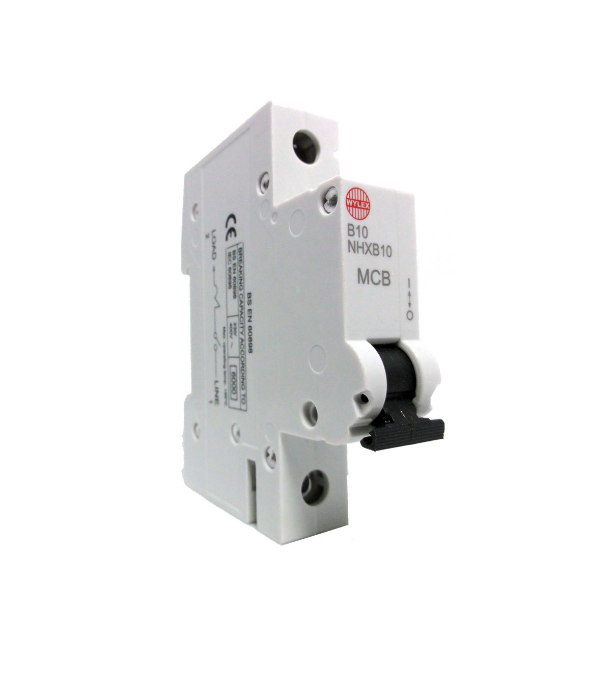"Wylex NHXB10 10A 6kA Single Pole ""B"" Type NH Range MCB"