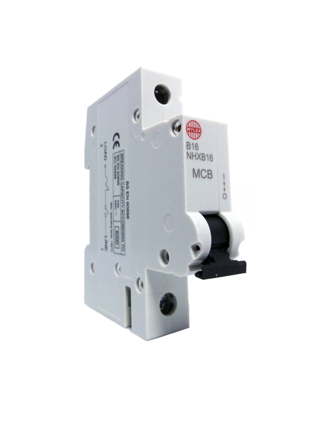 "Wylex NHXB16 16A 6kA Single Pole ""B"" Type NH Range MCB"