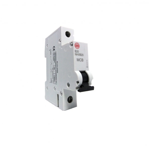 "Wylex NHXB20 20A 6kA Single Pole ""B"" Type NH Range MCB"