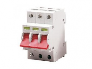 Wylex WS123 125A Triple Pole Switch Disconnector for Type B Distribution Boards