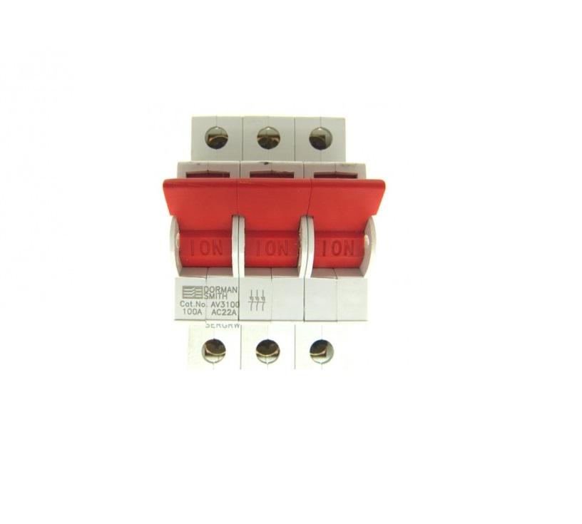 Dorman Smith Loadlimiter 63 AV3125 125A TP Switch Disconnector for ...