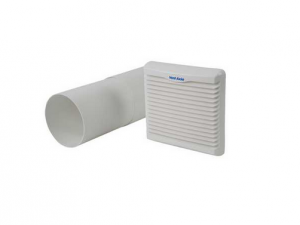 Vent Axia VA140902 150MM White Wall Kit For VA140 & Silhouette 150 Ranges