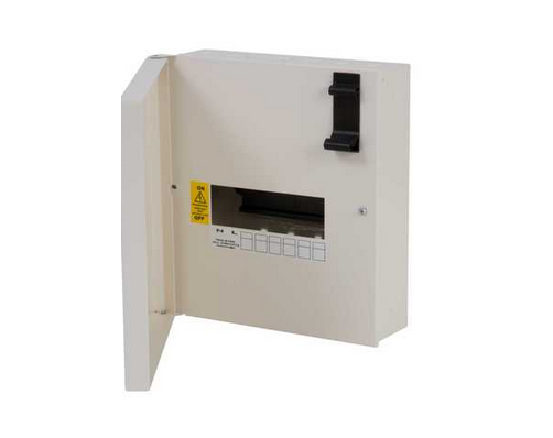 Schneider Electric SEA9AN6 Single Phase 6 Way Type A Acti 9 Distribution Board