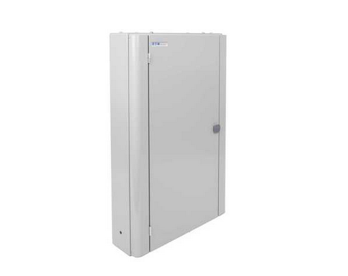 Eaton EBMXDC45 Memshield 3 - 45 Modular Enclosure, 3 x 15 Module Din Rail - Unglazed Door
