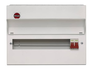 Wylex NM1106L 11 Way Amendment 3 Metal Consumer Unit w/ 100A Main Switch