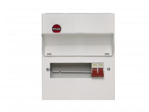 Wylex NM806 8 Way Amendment 3 Metal Consumer Unit w/ 100A Main Switch