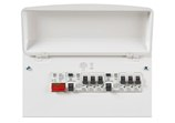 MK Sentry K7664sMET 6 Way Amendment 3 Metal Consumer Unit