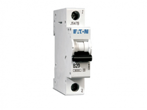 "Eaton Memera Single Pole ""B"" Type EAD Range MCB 6kA 6-63A"