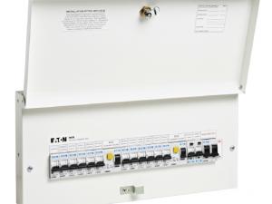 Eaton Memera EAS10H80H63DS 10 Way Dual RCD Consumer Unit