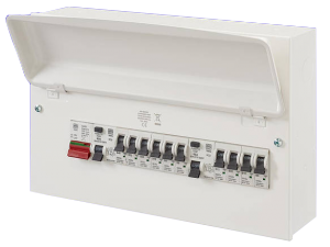 MK Sentry K7666sMET 10 Way Amendment 3 Metal Consumer Unit