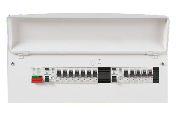 MK Sentry K7678sMET 15 Way Amendment 3 Metal Consumer Unit