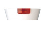 MK Electric 2056WHI Mounting Block with Neon for 6A or 16A Switches