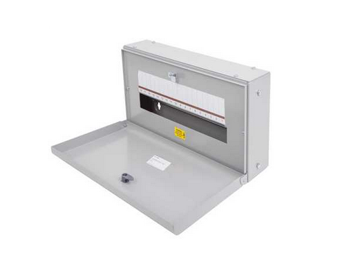 Eaton EBMXDC18 Memshield 3 - 18 Module Din Rail - Unglazed Door