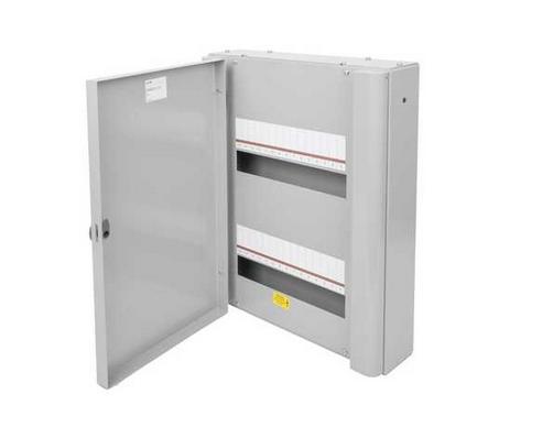 Eaton EBMXDC30 Memshield 3 - 30 Modular Enclosure, 2 x 15 Module Din Rail - Unglazed Door