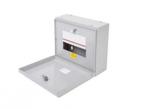Eaton EBMXDC9 Memshield 3 – 9 Module Din Rail Enclosure – Unglazed Door