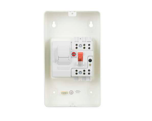 Single Phase Switch : Wylex dsf m amendment all metal single phase switch