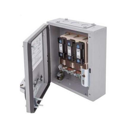 Eaton MEM 100KXSC2F Exel 2 Grey Three Phase SPSN Switch-Disconnector-Fuse 100A 415V