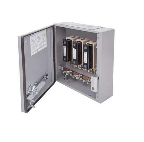 Eaton MEM 60KXTNC2F Exel 2 Grey Three Phase TPN Switch-Disconnector-Fuse 63A 415V