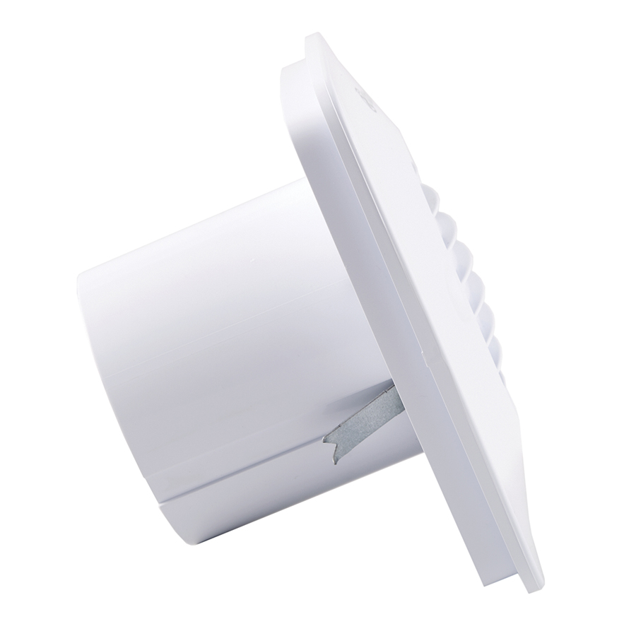 Xpelair Dx100pirs Simply Silent Dx100 4 100mm Square Bathroom Fan W Wiring Diagram Dx100ts Timer