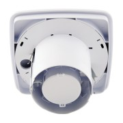 Xpelair LV100TS Simply Silent LV100 4 100mm Square SELV Bathroom Fan W Timer & Wall Kit - 93032AW 3