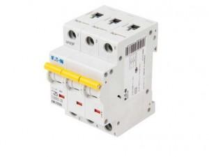 "Eaton EMCH325 Memshield 3 25A 10/15kA Triple Pole ""C"" Type MCB"