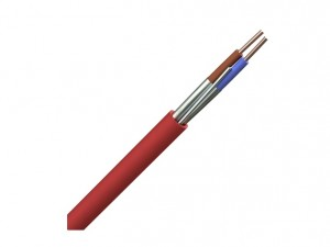 Prysmian FP200 Gold Fire Protected Cable 2-Core 1.5mm x 100m Red