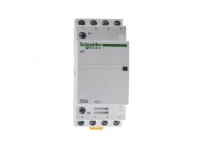 Schneider Electrical A9C20834 Acti9 Contactor iCT 4NO 25A 230/240VAC 50Hz
