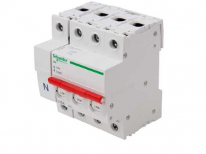 "Square D by Schneider Electric SE125SW3L LoadCentre KQ 125A Switch Disconnector TP&N for ""B"" Type DBs"
