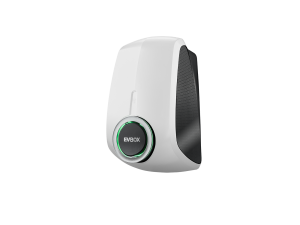 EVBox Elvi Socketed, Wi-Fi and Roaming Sim with kWh Meter Polar White E3321-A1501-11.2