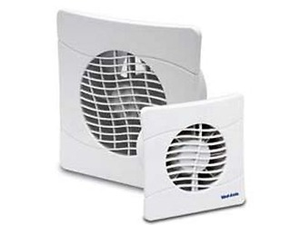 Vent Axia Basl100slt Bathroom Toilet Fan Kelvelec Electrical Supplies Ltd